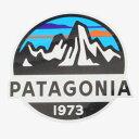 パタゴニア フィッツロイ スコープ ステッカー Patagonia Fitz Roy Scope STICKER 光沢 シール デカール 丸 円 稀少 ネコポス 同梱可 …