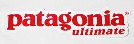 訳あり 激レア パタゴニア アルティメット ステッカー 赤 PATAGONIA ULTIMATE STICKER レッド シール デカール 非売品 限定 新品 ネコポス