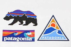 訳あり パタゴニア ステッカー 3種セット PATAGONIA STICKERS SET フィッツロイ ベア ローリングスルー ボードショーツロゴ シール 新品