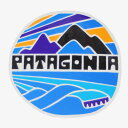 パタゴニア フィッツロイ ライツ ステッカー 光沢 Patagonia FITZROY RIGHTS STICKER シール デカール ネコポス キャンプ カスタム 新品
