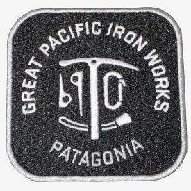 パタゴニア アイロンパッチ グレートパシフィックアイアンワークス PATAGONIA GREAT PACIFIC IRON WORKS ワッペン バッジ 新品 同梱可