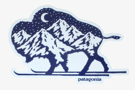パタゴニア ノルディック バイソン ステッカー Patagonia NORDIC BISON STICKER 牛 スキー シール デカール メール便 同梱可 新品