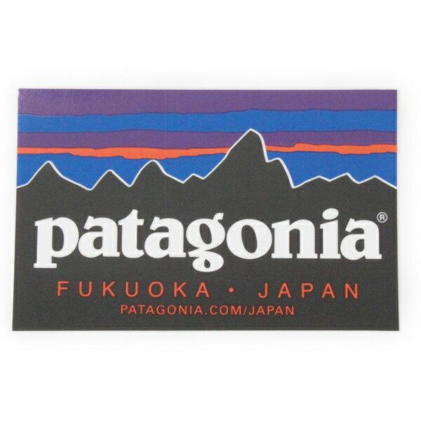 パタゴニア ステッカー フクオカ ジャパン PATAGONIA FUKUOKA JAPAN ご当地 日本 九州 福岡 店 店舗 シール デカール 新品 メール便 同梱可
