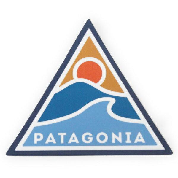 パタゴニア ステッカー ローリング スルー PATAGONIA ROLLING THRU STICKER 波 ウェーブ サーフ シール デカール メール便 同梱可 新品