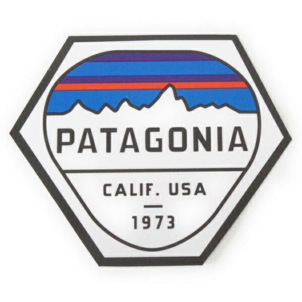 パタゴニア ステッカー フィッツロイ ヘックス PATAGONIA FITZROY HEX STICKER 山 CLIF USA 1973 シール デカール メール便 同梱可 新品
