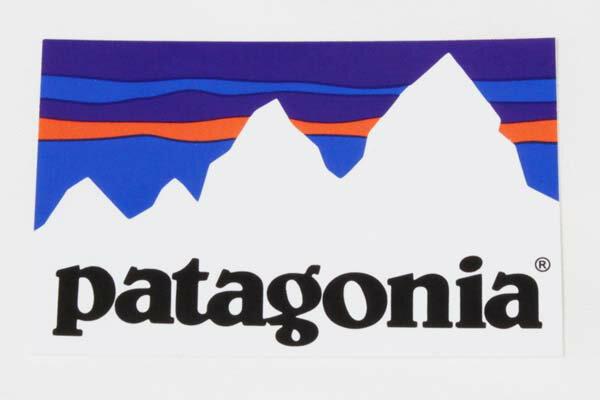 パタゴニア ステッカー フィッツロイ ショップ PATAGONIA FITZROY SHOP STICKER 山 雪 ロゴ スノー シール デカール メール便 同梱可 新品