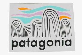 パタゴニア フィッツロイ ボルダーズ ステッカー PATAGONIA FITZ ROY BOULDERS STICKER ロゴ 長方形 シール デカール メール便 新品