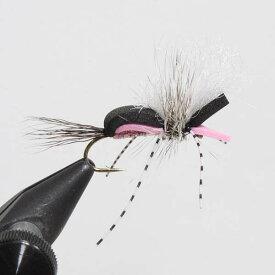 アンプカ ヒッピーストンパー ピンク 12本セット UMPQUA HIPPIE STOMPER FLY FISHING 完成品 針 管釣 湖 ドライ フライ チェルノブイリ テレストリアル アント ビートル ティムコ 新品