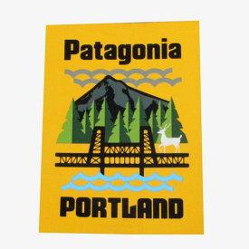パタゴニア ステッカー ポートランド スペシャル PATAGONIA PORTLAND オレゴン シール メール便 同梱可 アメリカ 店舗限定 USA 非売品
