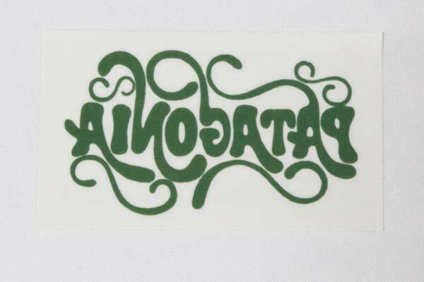 パタゴニア ロゴ タトゥー シール 緑 PATAGONIA TATOO STICKER 新品 ステッカー グリーン 正規品 即納