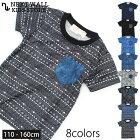 キッズ子供服Tシャツ半袖Tシャツティーシャツ男の子ボーイズプリントTシャツジュニアアメカジ韓国子供服110cm120cm130cm140cm150cm160cm「339-07」