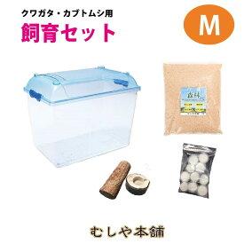 カブトムシ・クワガタ成虫 中型用飼育セット
