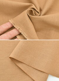 (完売しました)播州先染めダンガリー生地幅広約115cm幅ブラウン《無地日本製布国産シャツ手作りコットン綿100%手芸パンツスカートハンドメイド商用利用可djh23》myb