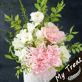 プリザーブドフラワー お祝い フラワーギフト 結婚記念日 桃華 お供え 結婚祝 新築祝 お誕生日 花 ギフト プレゼント 光触媒加工 優しい色合いも和花