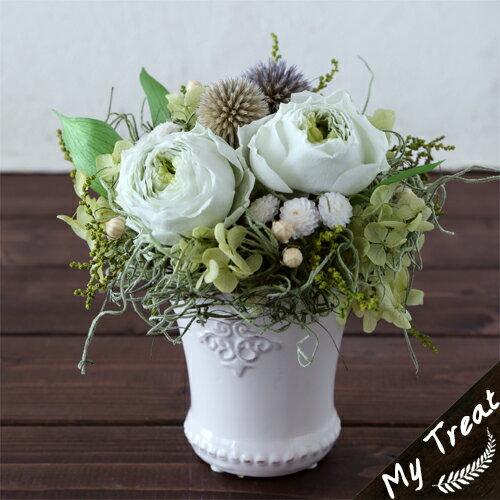 【ギフト】母の日/プリザーブドフラワー/プリザードフラワー ブリザードフラワ− オールドローズ 花ギフト お祝い 結婚祝 新築祝 お誕生日
