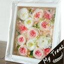 プリザーブドフラワー お祝い 壁掛け ギフト フラワーギフト 結婚記念日 ジュノーフレーム ピンク プリザードフラワー ブリザードフラ…