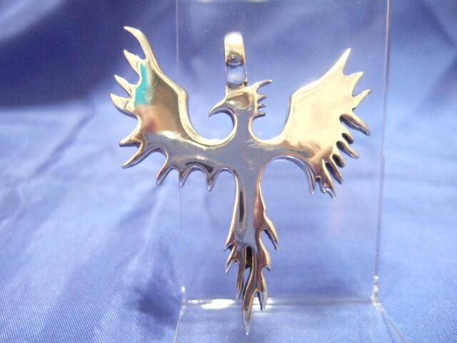 お買い得 SILVER925銀ペンダント♪火の鳥17.4グラム 送料220円12
