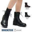 ビルケンシュトック レディース ブーツ ララミー レザー レースアップ ブローグ フットベッド Birkenstock LARAMIE