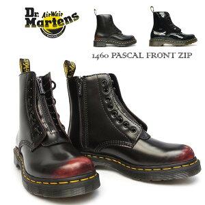 1460 PASCAL FRONT ZIP 8 ホール ブーツ CHERRY RED 24330600 レディース