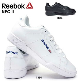 リーボック スニーカー エヌピーシー 2 クラシック メンズ レディース レザー 白 黒 ユニセックス モノトーン Reebok NPC CLASSIC 本革