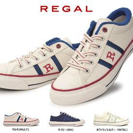 リーガル レディーススニーカー BE58 キャンバス カジュアルシューズ バルカナイズ REGAL