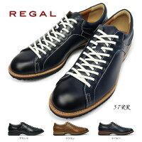 リーガル靴57RRカジュアルシューズメンズレザーレースアップREGAL57RRAH