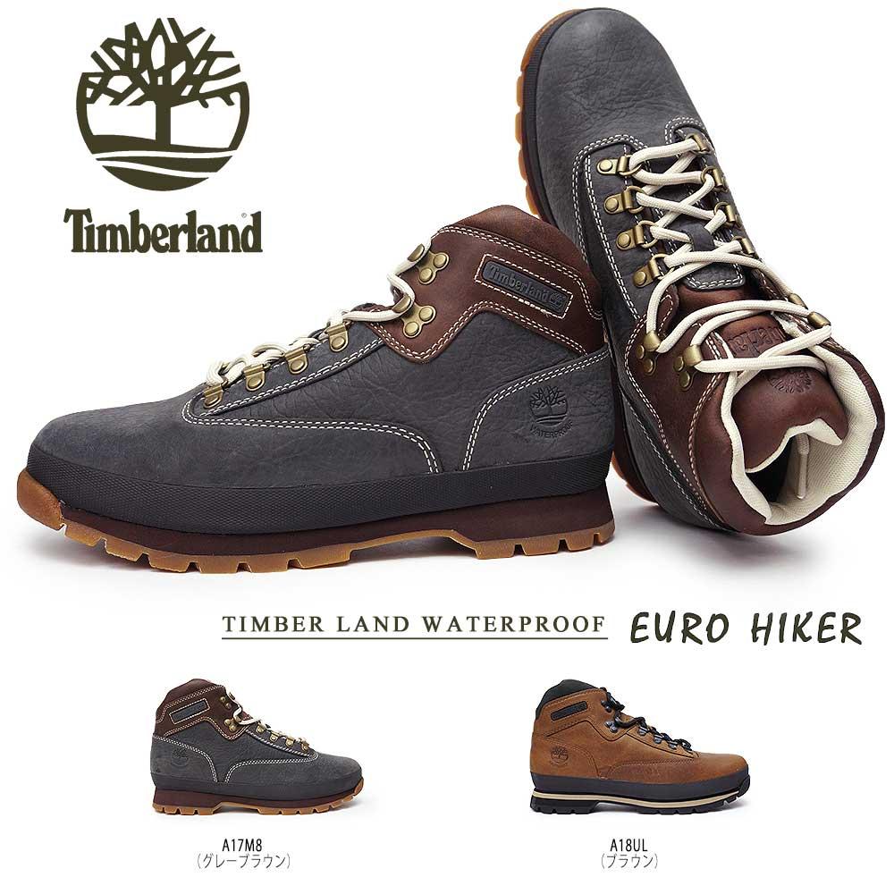 ティンバーランド ユーロハイカー レザー ウォータープルーフ 正規品 メンズブーツ 防水 本革 Timberland EURO HIKER LEATHER WP