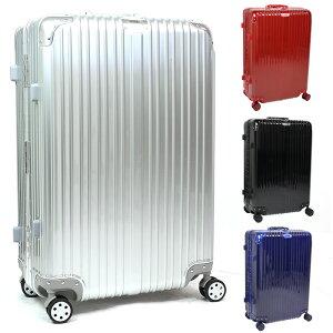 スーツケース Lサイズ 80L キャリーケース キャリーバッグ アルミフレーム TSAロック 軽量 静音 ダブルキャスター 4輪タイヤ トランク 旅行かばん ケースAL03-L