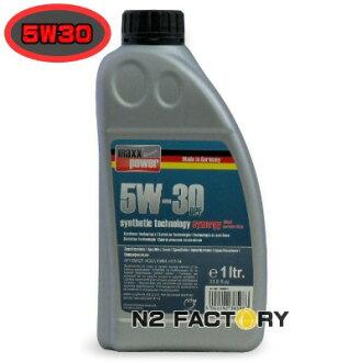 "店长推荐!maxxpower premium 5W-30 DPF Fully-Synthetic""Synergy""1L/最大功率高级全部的-电子合成器""Synagy"""