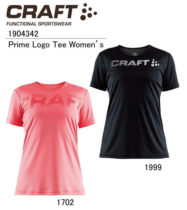 クラフト:【CRAFT】Prime Logo Tee Women's 1904342【あらゆるスポーツシーンに最適!】【普段使いにもオススメ!】【ネコポス便送料無料!(※代引き不可)】