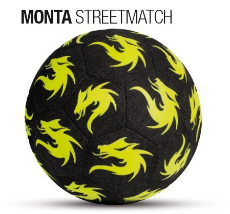 サッカー:モンタ ストリートサッカーボール 4.5号球 「MONTA」 STREETMATCH 2016-2017 Nr.5210