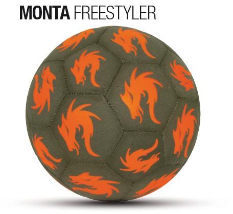 サッカー:モンタ ストリートサッカーボール 4.5号球 「MONTA」 FREESTYLER 2016-2017 Nr.5211