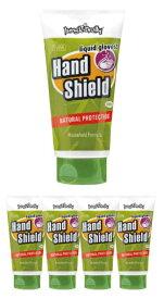 ジャングルブロリー Jungle Brolly ハンドシールド Hand Shield 150ml 5本セット【家庭用】 液体グローブ ハンドクリーム 皮膚保護【送料無料】【コロナ禍に負けるな! 】