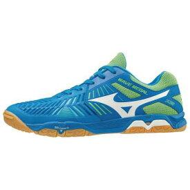 [ミズノ 卓球シューズ ウエーブメダルZ2 Mizuno WAVE MEDAL (81GA1910) 01:ブルー×ホワイト×イエロー【table tennis shoes】【送料無料】【お買い物マラソン 】