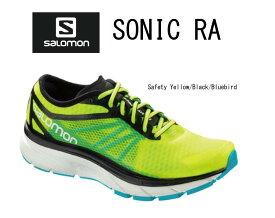 サロモン SALOMON SONIC RA サロモン ソニック RA <400092>Safety Yellow/Black/Bluebird 【送料無料】ランニング ジョギング フィットネス 高クッション 高反発 ウォーキング【キャッシュレス5%還元】