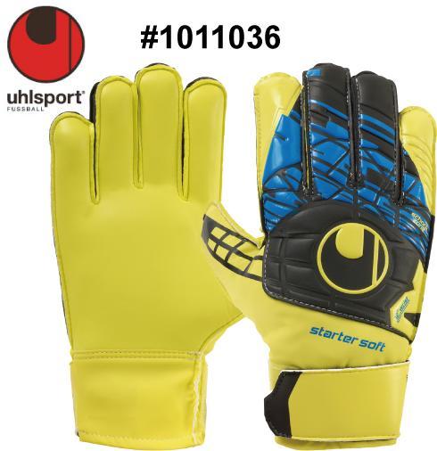 サッカー:ウールシュポルト「uhlsport」ゴールキーパーグローブ SPEED UP スターターソフト #1011036 【※メール便で送料無料!(代引き不可)】【ジュニア対応!】