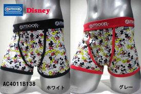 OUTDOOR Disneyコラボ ミッキーマウスボクサー AC4011B138