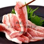 国産トントロ100g(焼肉、バーベキュー用)