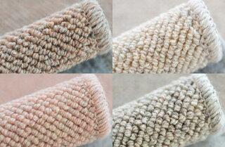 4.5帖カーペットウールラグの毛足はループのように1本1本太く長持ちできるカーペット4.5畳