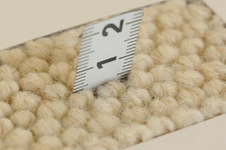 環境にやさしい未染色羊毛使用♪ウールカーペット