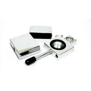 ZIPPO型ハーブ用シークレットパイプ/カモフラ/喫煙具 0511-3