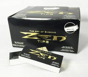 ZEN Filter Tips(ゼン・フィルターチップ) 2個 巻きタバコ メンズ 喫煙具 煙 葉っぱたばこ 刻みタバコ 巻き紙 折り目あり 吸い口