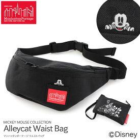【送料無料】マンハッタンポーテージ ウエストバッグ ボディバッグ Alleycat Waist Bag ミッキーマウス ディズニー MP1100MIC19