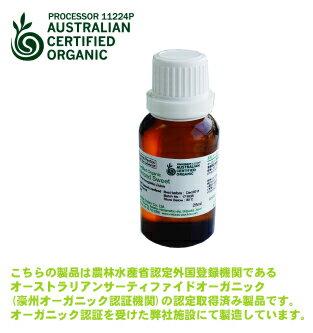 パチュリー精油(USDA/ACO認定オーガニック) 25ml【メール便送料無料】