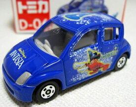 トミカ■ディズニートミカコレクション■D-06 トヨタ WiLL Vi 初版■ミッキーマウス■ミニカー■タカラトミー