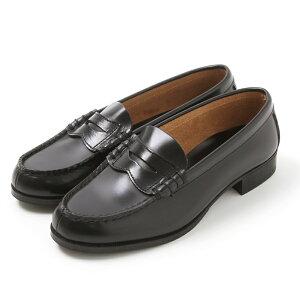 レディースローファー 革靴 リーガルコーポレーション プロフェッショナルギア ブラック 22.0〜26.0cm NL-69 国内製【メール便で送料無料】