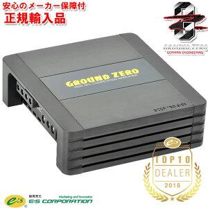 正規輸入品 グラウンドゼロ Ground Zero GZCA 750.2-D1 2ch D級 コンペティション パワーアンプ