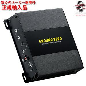 正規輸入品 グラウンドゼロ Ground Zero GZIA 2.85 2ch パワーアンプ