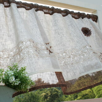 Café curtains: Vivien 02P05Sep15