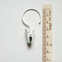 クリップランナー【25mm×50mm】(12個入り):テンションポール用クリップランナー